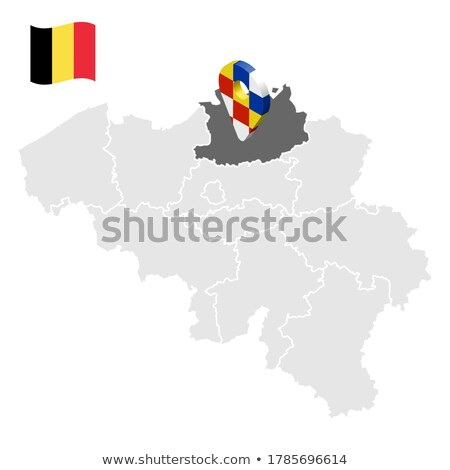Bélgica mapa logo icono vector signo Foto stock © blaskorizov