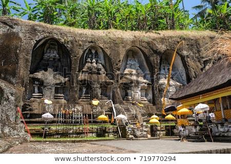 Starożytnych kamień świątyni królewski bali Indonezja Zdjęcia stock © galitskaya