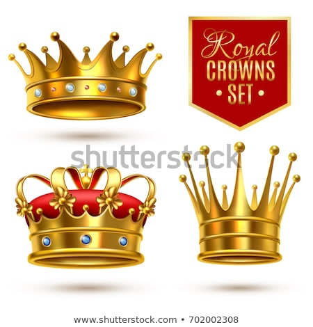 Gold Crown Vector. King Design. Royal Icon. Isolated Realistic Illustration Stock photo © pikepicture