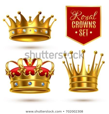 kroon · kussen · aanbiddelijk · kunst · cartoon · magie - stockfoto © pikepicture