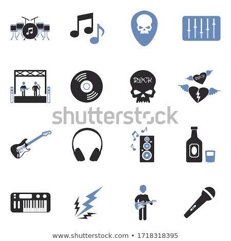 Música ala signo símbolo vector arte Foto stock © vector1st