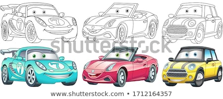 vector cute cartoon kids, child clipart Stock photo © VetraKori