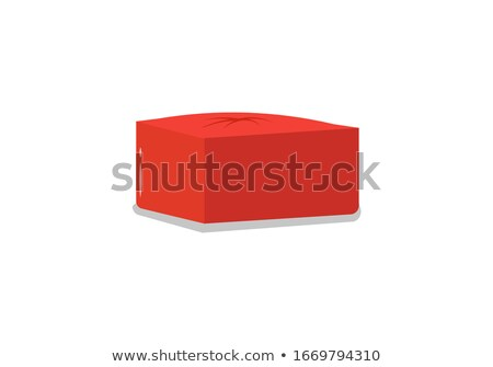 Pouf Soft Furniture, Comfortable Fluffy Chair Stock photo © robuart