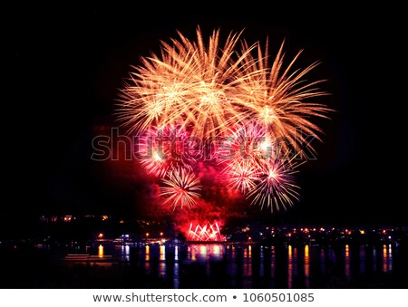 colorful celebratory salute stock photo © jossdiim