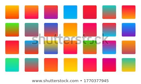 Olarak ayarlamak canlı renkli geçişlerini soyut Stok fotoğraf © SArts