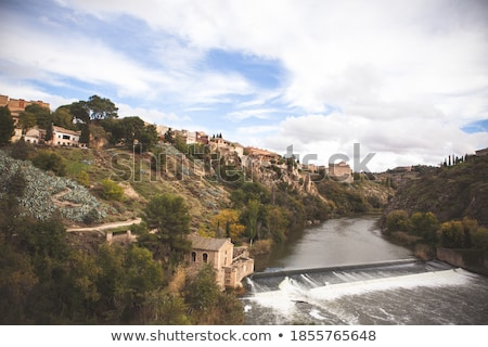 St Martin's Bridge, Toledo, Spain Stock photo © borisb17