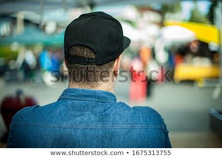 Urban man wearing baseball cap  Stock photo © Lopolo