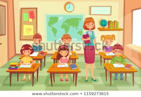 учитель география класс изучения мира Сток-фото © Kzenon