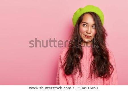 изображение красивой азиатских девушки Сток-фото © deandrobot