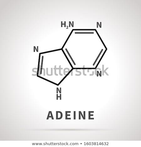 химической структуре один четыре основной простой черный Сток-фото © evgeny89