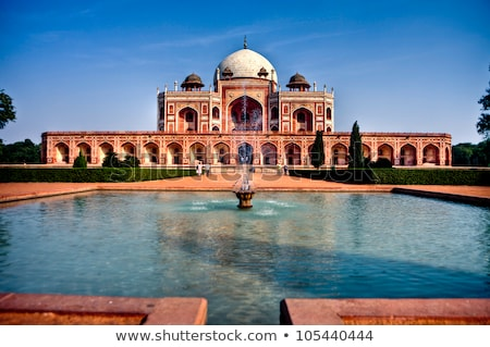 Grób Delhi Indie indian turystycznych punkt orientacyjny Zdjęcia stock © dmitry_rukhlenko
