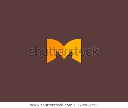 красочный буква М детей письме печать ретро Сток-фото © kariiika