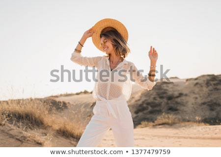 attractive model dressed casual Stock photo © pdimages