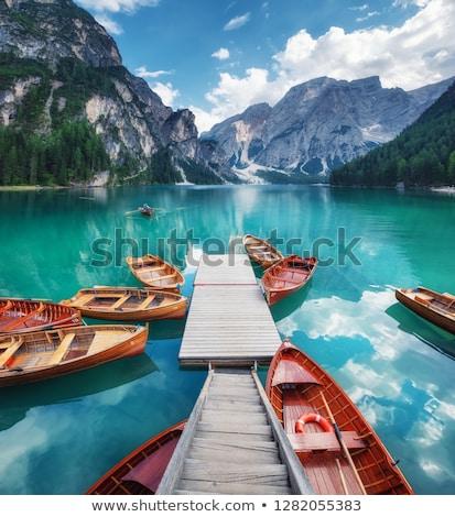 Zomer landschap Italiaans heldere Stockfoto © Antonio-S