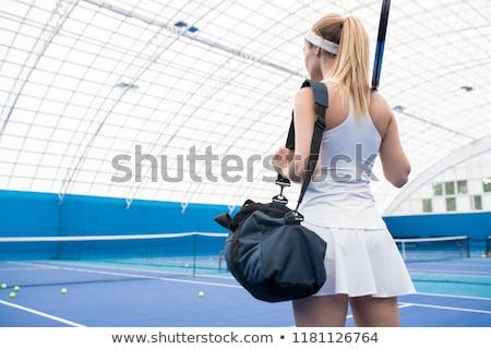 tennisspeler · man · spelen · tennis · sport · achtergrond - stockfoto © photography33