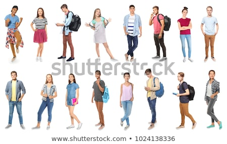 Collage of a young student Stock photo © photography33