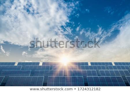 The solar sky Stock photo © saicle