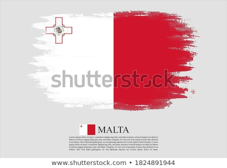 Foto stock: Grunge · Malta · bandera · país · oficial · colores