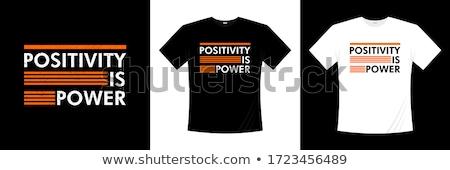 Tshirt projeto templates moda homens preto Foto stock © experimental