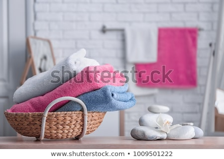 Stock photo: Bathroom Towels