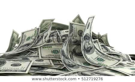Dolar fatura imzalamak simge 3d render fotoğraf Stok fotoğraf © iqoncept