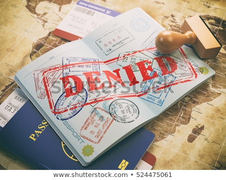 Visa denial Stock photo © ifeelstock