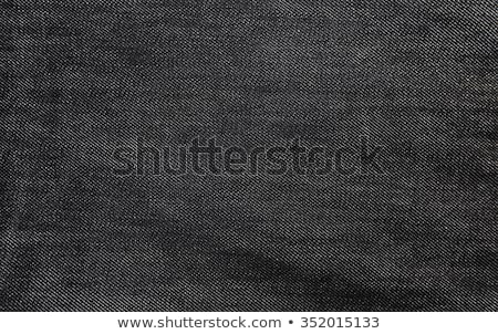 Denim Fabric Texture - Dark Gray With Seams Stock photo © eldadcarin