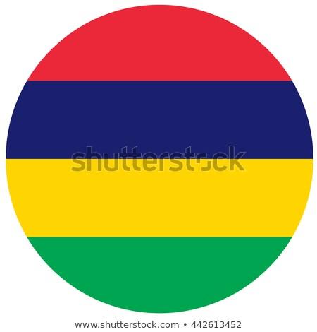кнопки Маврикий карта океана флаг радуга Сток-фото © Ustofre9