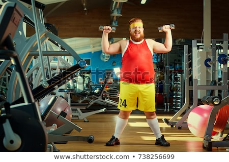 super fit stock photo © lithian