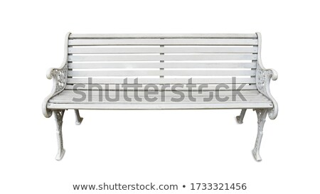 long leg chair isolated with clipping path Stock photo © tungphoto