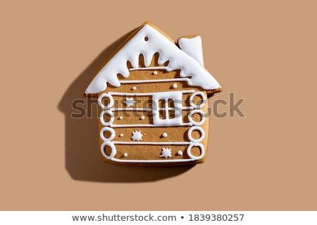 生姜 パン 家 食品 建物 屋根 ストックフォト © jeffbanke