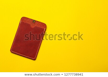 credit   concept on label holder stock photo © tashatuvango