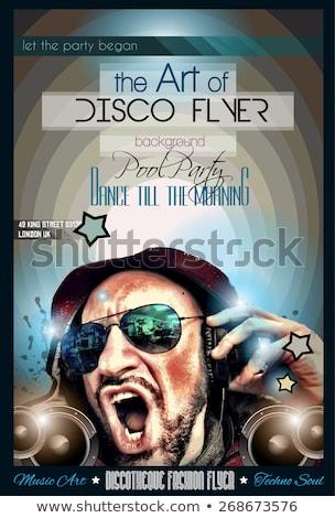 Stok fotoğraf: Müzik · disko · kulüp · soyut · dizayn