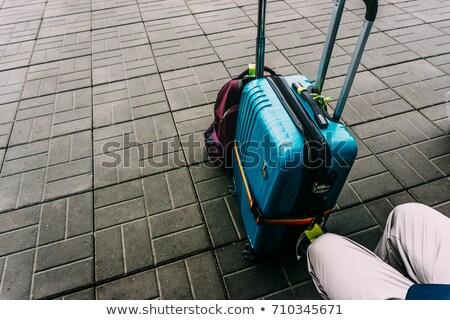 board suitcase Stock photo © romvo