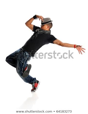Jóvenes hombre hip hop baile urbanas Foto stock © blanaru