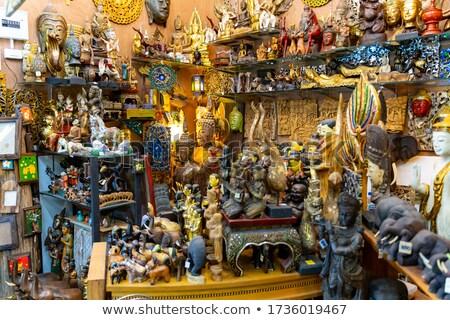 comida · Bangkok · Tailândia · comida · de · rua · cidade · rua - foto stock © joyr