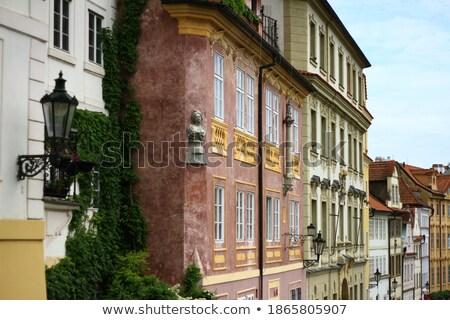 Prague Houses and Rooftops Stock photo © stevanovicigor