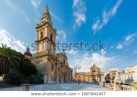 Chiesa Badia in Ragusa. Sicily, Italy. Stock photo © Photooiasson