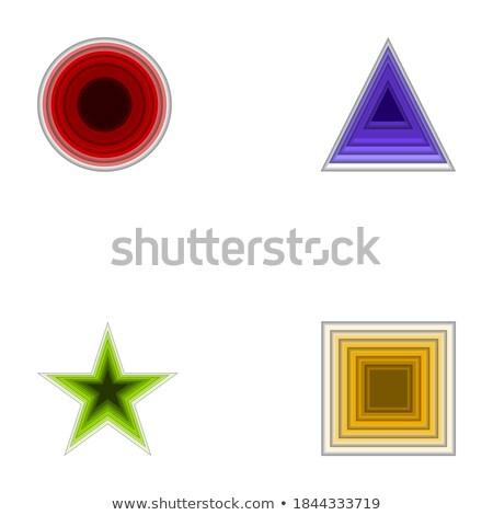 streszczenie · szkła · elegancja · podpisania · zestaw · biały - zdjęcia stock © jiaking1