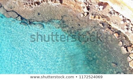 hermosa · playa · mediterráneo · agua · fondo - foto stock © lunamarina