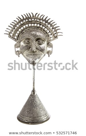 Mayan or Incan symbol of a sun or star Stock photo © Morphart
