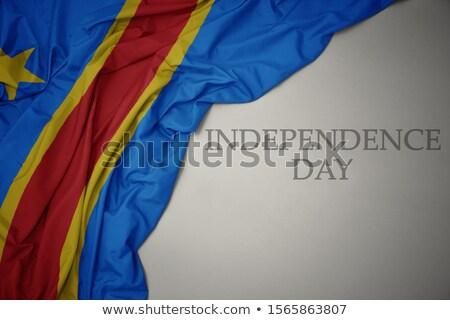 Miłości demokratyczny republika Congo podpisania odizolowany Zdjęcia stock © MikhailMishchenko