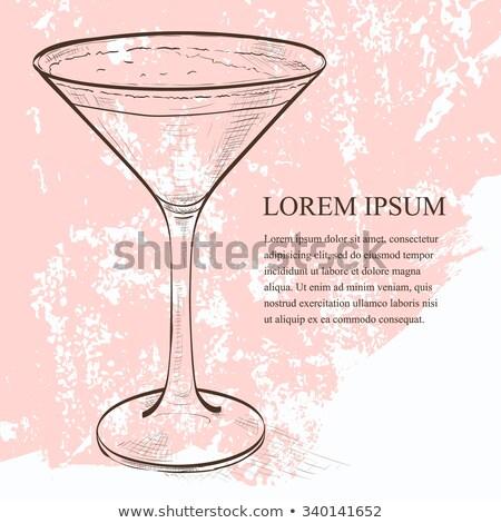 эспрессо · Martini · коктейль · пить · кофе - Сток-фото © netkov1