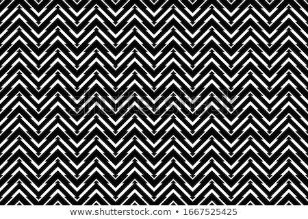 Zig-zag pattern senza soluzione di continuità semplice vettore design Foto d'archivio © ExpressVectors
