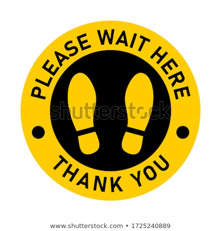 Sign Out Yellow Vector Icon Design Stock photo © rizwanali3d