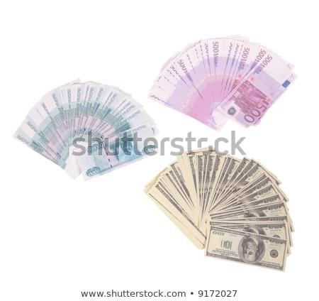 Soldi euro dollari souvenir finanziare successo Foto d'archivio © Paha_L