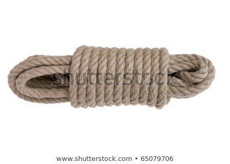 thick and durable string on white background Stock photo © shutswis