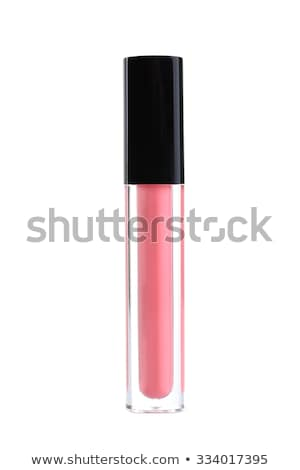 Lipgloss cosmetica make-up schoonheid Stockfoto © dolgachov