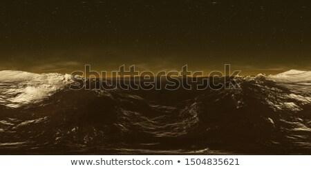 3D Alien landscape at night Stock photo © kjpargeter
