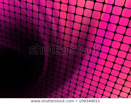 Technology squares with green flare burst. EPS 8 Stock photo © beholdereye